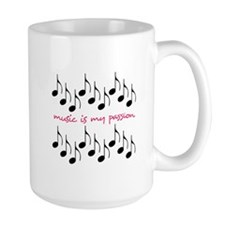 Music Is My Passion Mugs