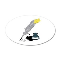Quill And Ink Wall Decal