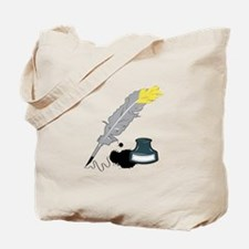 Quill And Ink Tote Bag