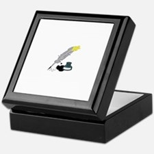 Quill And Ink Keepsake Box
