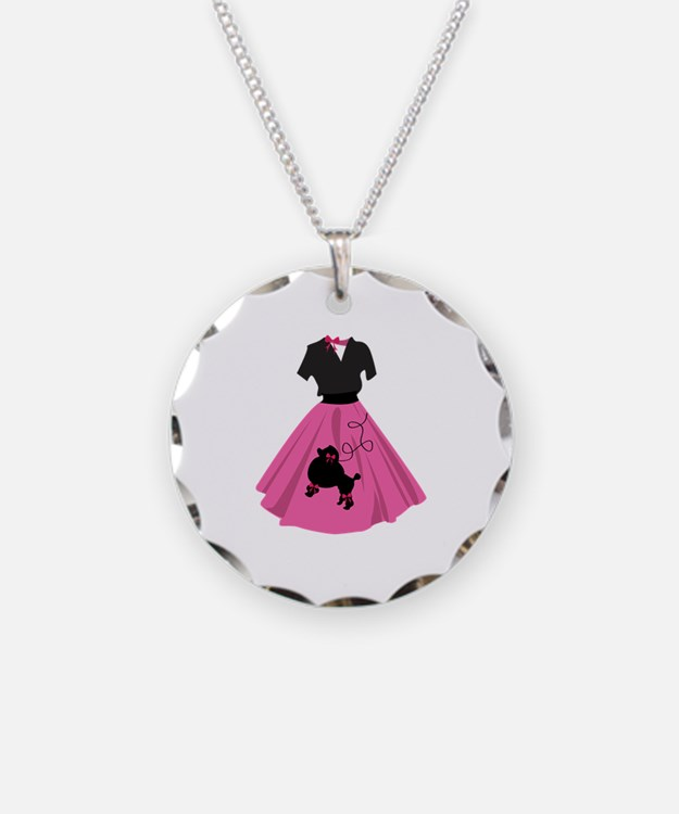 Poodle Skirt Necklace