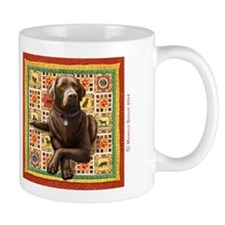 Chocolate Lab Mug Mugs