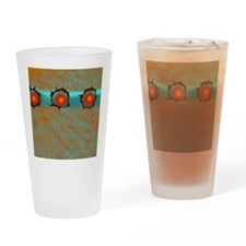 Decorative Abstract Pattern Drinking Glass