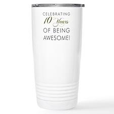 Celebrating 10 Years Drinkware Travel Mug