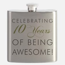 Celebrating 10 Years Drinkware Flask