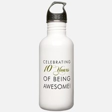Celebrating 10 Years Drinkware Water Bottle