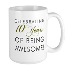 Celebrating 10 Years Drinkware Mugs