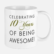 Celebrating 10 Years Drinkware Mugs