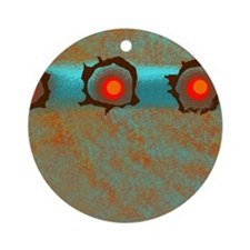 Decorative Abstract Pattern Ornament (Round)