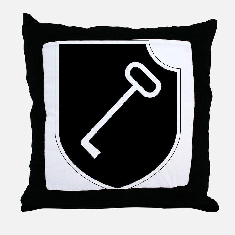 1. SS-Panzer-Division Leibstandarte-S Throw Pillow