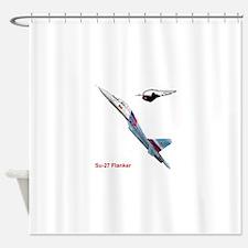 Unique Jet a Shower Curtain