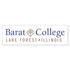 Barat College Bumper Car Sticker
