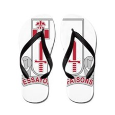 54th Army Engineer Battalion Military.p Flip Flops