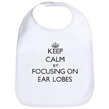 Keep Calm by focusing on Ear Lobes Bib