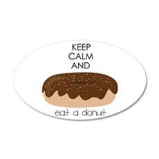 Eat A Donut Wall Decal