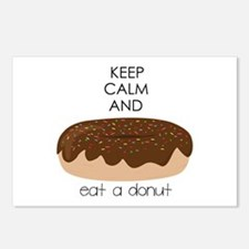 Eat A Donut Postcards (Package of 8)