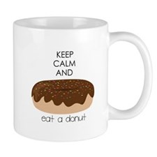 Eat A Donut Mugs