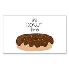 Its Donut Time Decal
