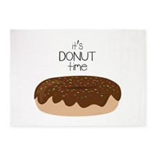 Its Donut Time 5'x7'Area Rug