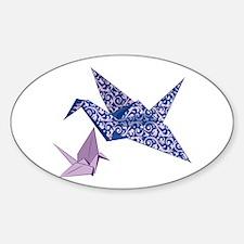 Origami Crane Decal
