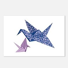 Origami Crane Postcards (Package of 8)