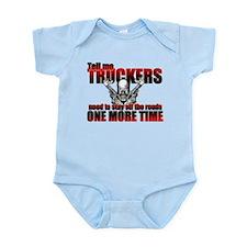 Trucker Threat Infant Bodysuit