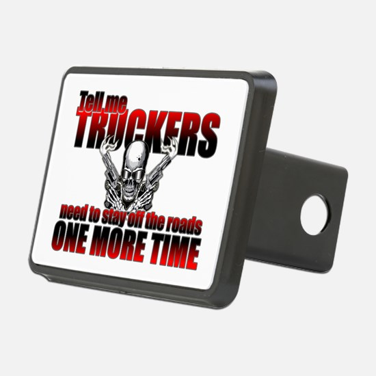 Trucker Threat Hitch Cover