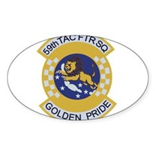 59th TAC FTR Squadron Decal