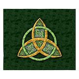 Celtic trinity knot King Duvet Covers