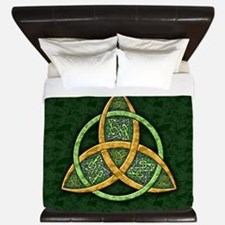 Celtic Trinity Knot King Duvet