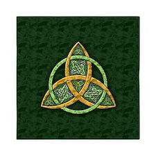 Celtic Trinity Knot Queen Duvet
