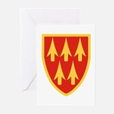 32nd Army Air Defense Command Greeting Cards