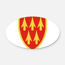 32nd Army Air Defense Command.png Oval Car Magnet