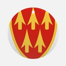 32nd Army Air Defense Command.png Ornament (Round)