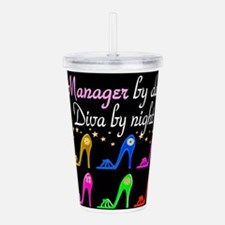 MANAGER DIVA Acrylic Double-wall Tumbler