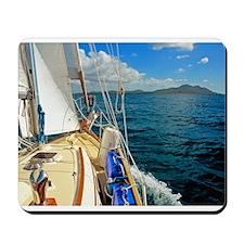 Jim Ulik Sailing Merengue Mousepad