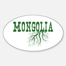 Mongolia Roots Decal