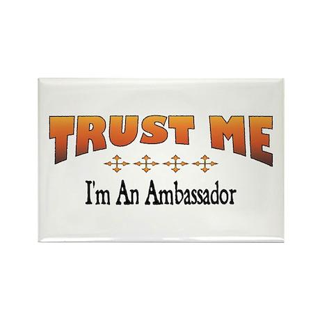 Trust Ambassador Rectangle Magnet (10 pack)