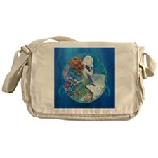 Clive Pearl Mermaid Right Messenger Bag