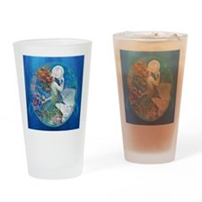 Clive Pearl Mermaid Right Drinking Glass