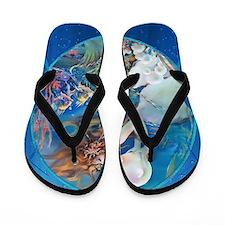 Clive Pearl Mermaid Flip Flops