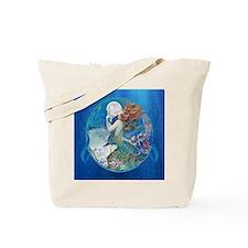 Clive Pearl Mermaid Tote Bag