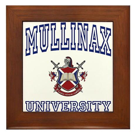 MULLINAX University Framed Tile