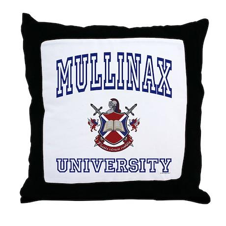MULLINAX University Throw Pillow