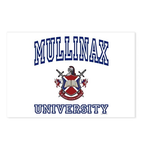 MULLINAX University Postcards (Package of 8)
