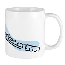 Flute Mug (Blue)