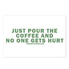 Pour Coffee Postcards (Package of 8)