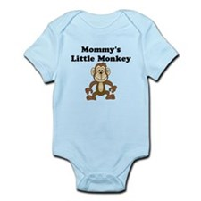 Mommy's Little Monkey Body Suit