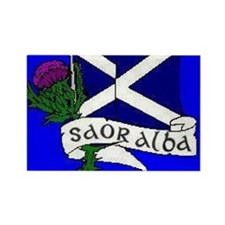 Cute Independence for scotland. Rectangle Magnet