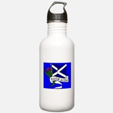 Cute Independence for scotland. Water Bottle